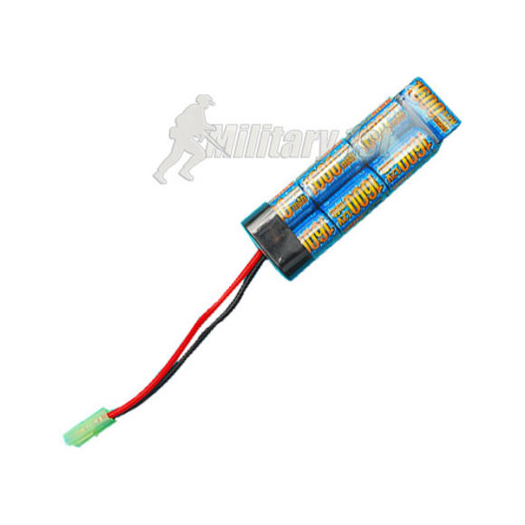 G&amp;P 8.4v 1600mAh Mini Type Battery