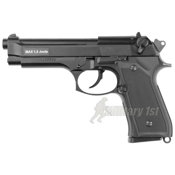 ASG M9 Heavy Weight Pistol Black