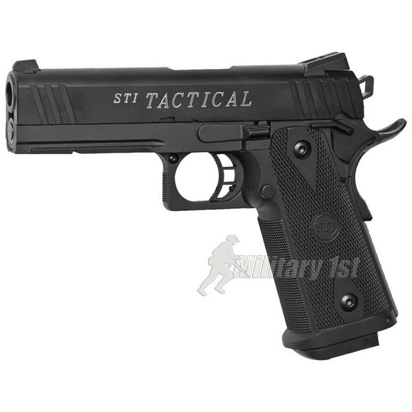 ASG STI Tactical Pistol Black