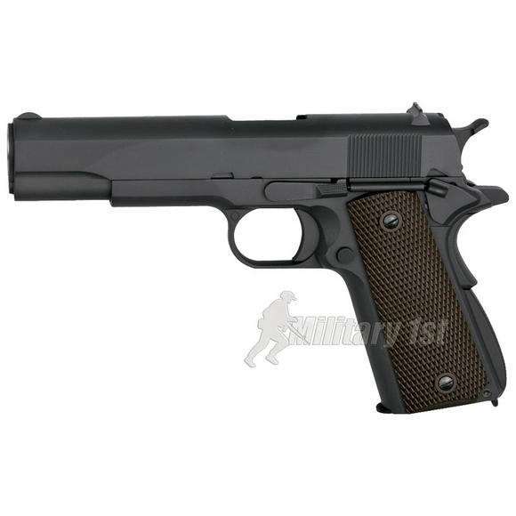 WE M1911 Pistol Black / Brown