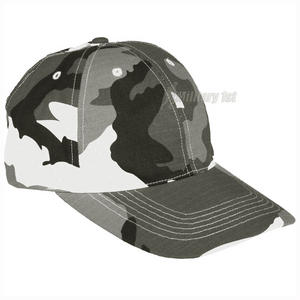 Mil-Tec Baseball Cap with Metal Buckle Ripstop Urban