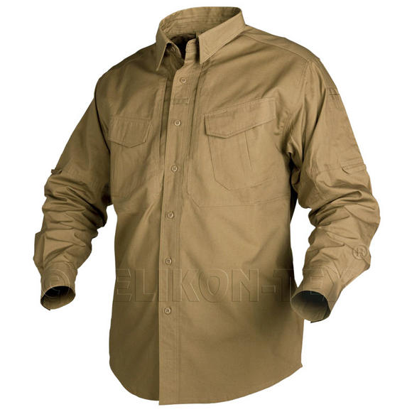 Helikon Shirt Defender Long Sleeve Coyote