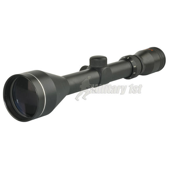 SMK 3-9x50 Scope Black