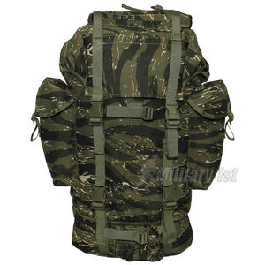 MFH German Army Rucksack 65L Tiger Stripe