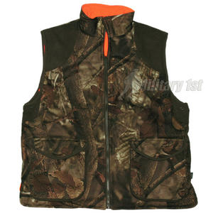 MFH Hunting Vest Reversible Hunter Brown