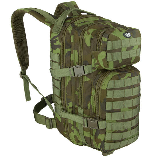 MFH Backpack Assault I Czech Woodland