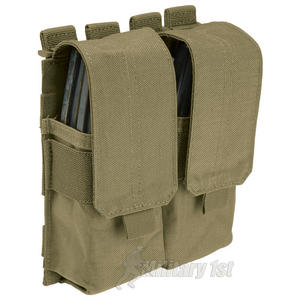 5.11 Stacked Double Mag Pouch with Cover Sandstone