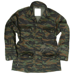 Mil-Tec BDU Combat Shirt Tiger Stripe