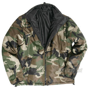 Mil-Tec British Cooling Jacket Woodland / Black