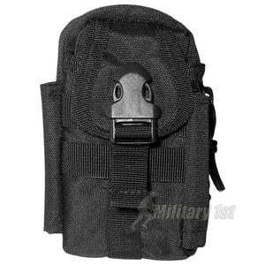 Mil-Tec Commando Belt Bag Black
