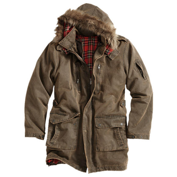 Surplus Xylontum Giant Parka Brown
