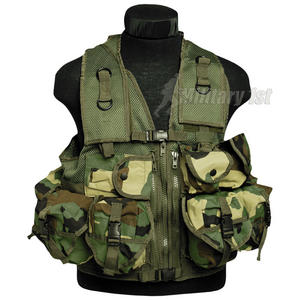 Mil-Tec Ultimate Assault Vest Woodland