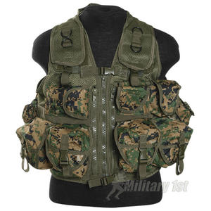 Mil-Tec Ultimate Assault Vest Digital Woodland