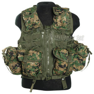 Mil-Tec Tactical Vest Modular System Digital Woodland