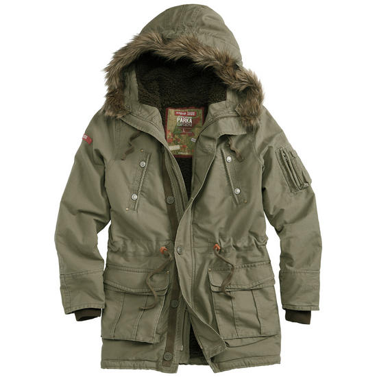 Surplus Trooper Supreme Parka Olive