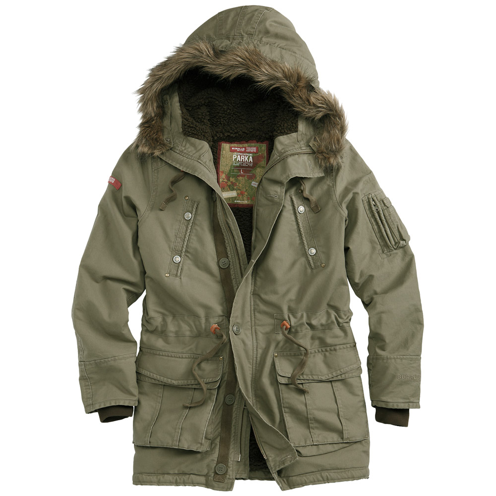 Surplus Trooper Supreme Parka Olive | Parka | Military 1st