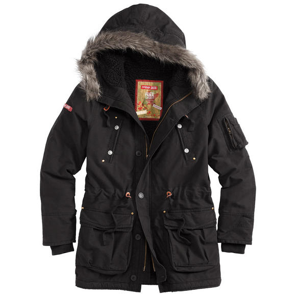 Surplus Trooper Supreme Parka Black