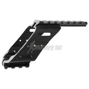 ASG Universal Rail Mount Black