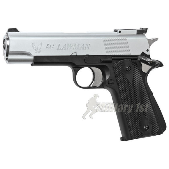 ASG STI Lawman Dual Tone Pistol Silver / Black
