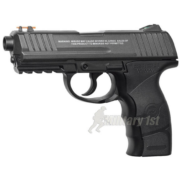 ASG RAID 400 Pistol with Metal Slide Black