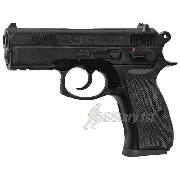 ASG CZ 75D Compact Pistol Black