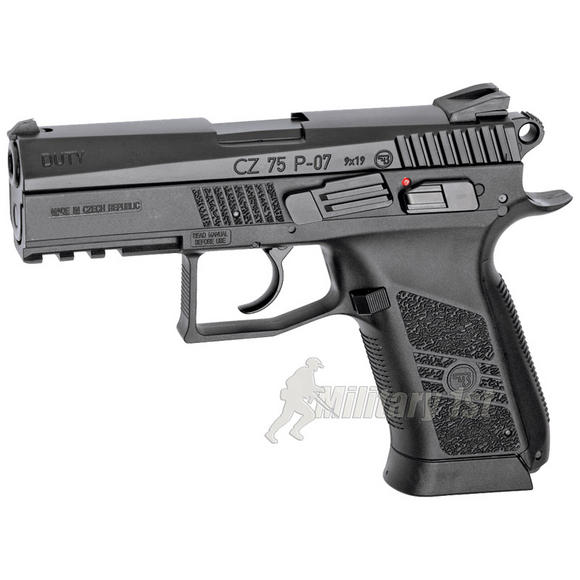 ASG CZ 75 P-07 Duty Pistol Black