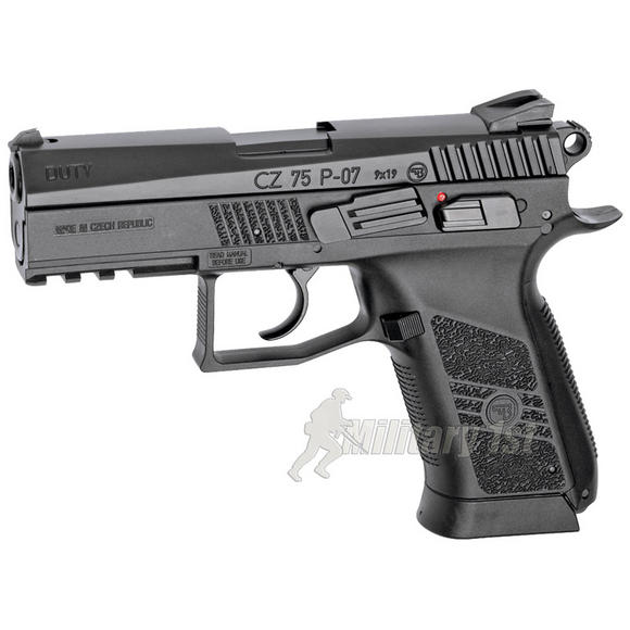 ASG CZ 75 P-07 Duty Pistol (Blowback) Black
