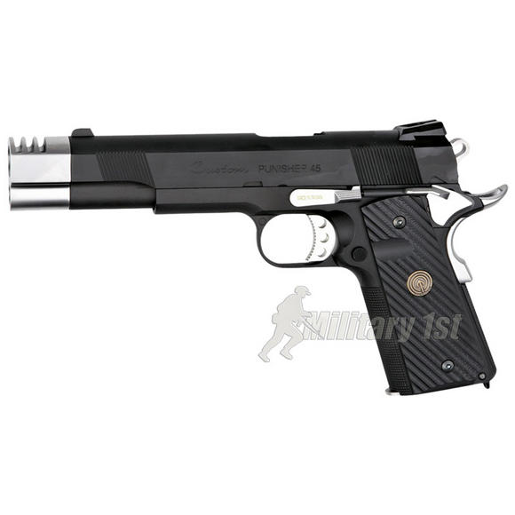 Socom Punisher 1911 2 Tones with Case Black