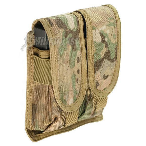 Helikon Double M4/M16 Magazine Pouch MOLLE MultiCam