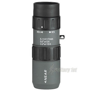 Luger MZ 5-15x17 Monocular Grey Black