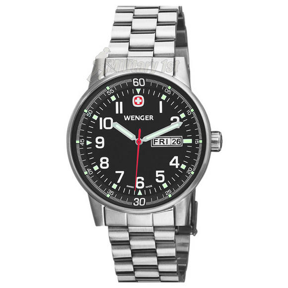 Wenger Commando Watch Silver