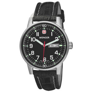 Wenger Commando Watch Black
