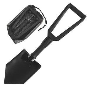 Mil-Com Lightweight Folding Shovel Black