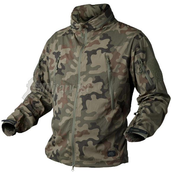 Helikon Trooper Soft Shell Jacket PL Woodland