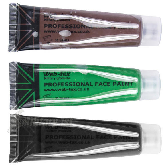Web-Tex Professional Face Paint