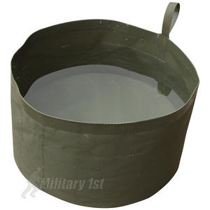 Web-Tex PVC Collapsible Water Bowl Olive Green