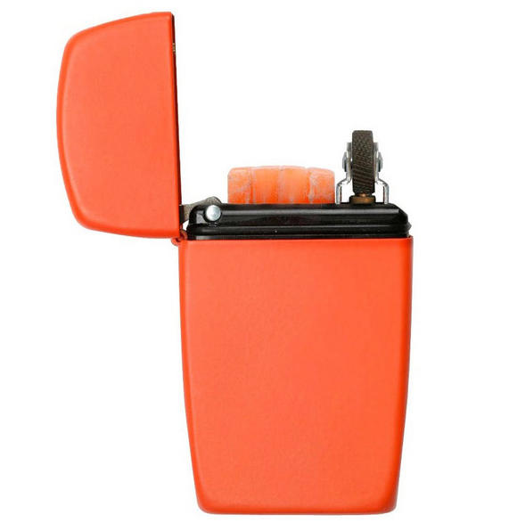 Zippo Emergency Fire Starter Kit Orange