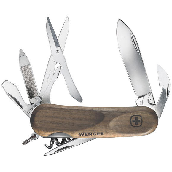 Wenger EvoWood 14 Swiss Army Knife