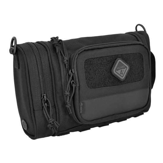 Hazard 4 Reveille Heavy Duty Toiletry Kit Black