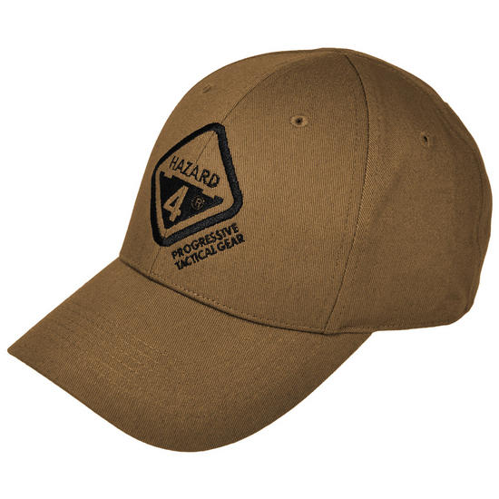 Hazard 4 H4 Tactical Logo Ball Cap Coyote