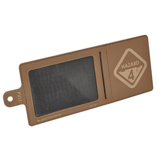 Hazard 4 3D Large Velcro I.D. Holder Coyote