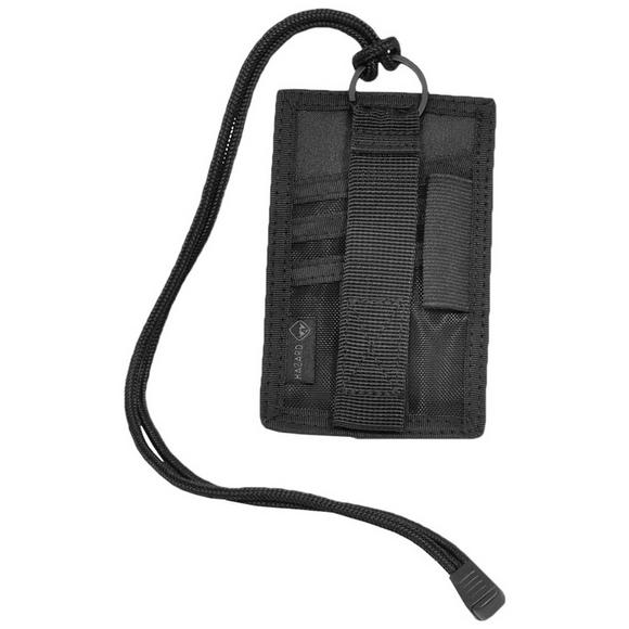 Hazard 4 Badger I.D. Patch Organiser Black