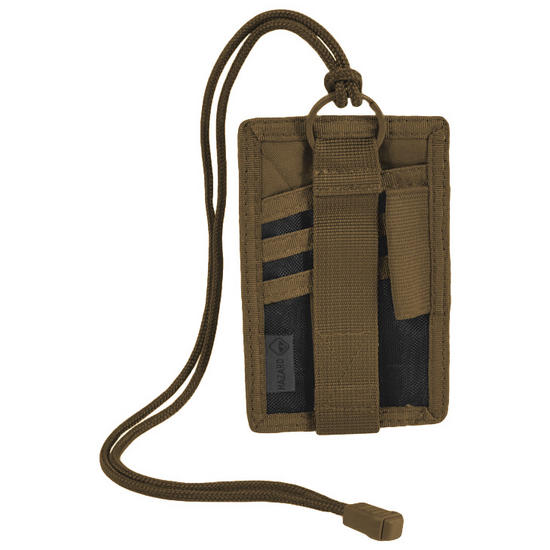 Hazard 4 Badger I.D. Patch Organiser Coyote