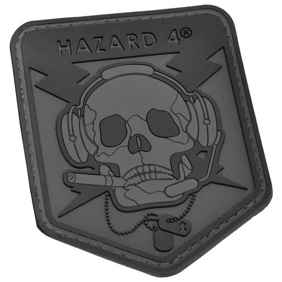 Hazard 4 3D Operator Skull Morale Patch Black