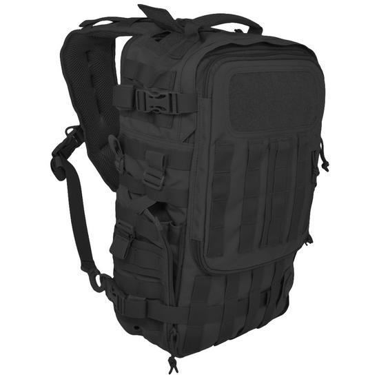 Hazard 4 Switchback Full Sized Laptop Sling Pack Black