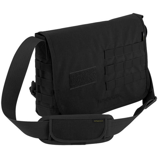 Wisport Pathfinder Shoulder Bag Black