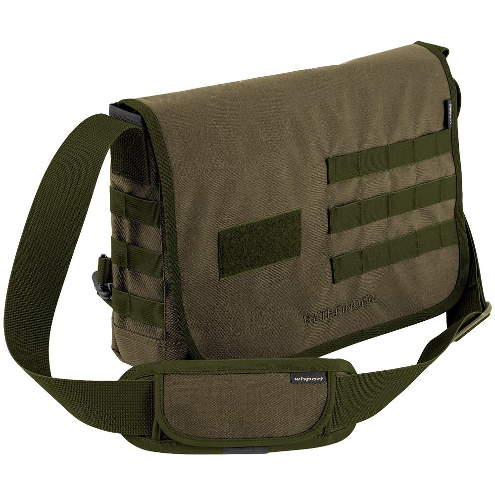 Wisport Pathfinder Shoulder Bag Olive Drab | Shoulder Bags ...