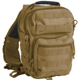 Mil-Tec One Strap Small Assault Pack Coyote