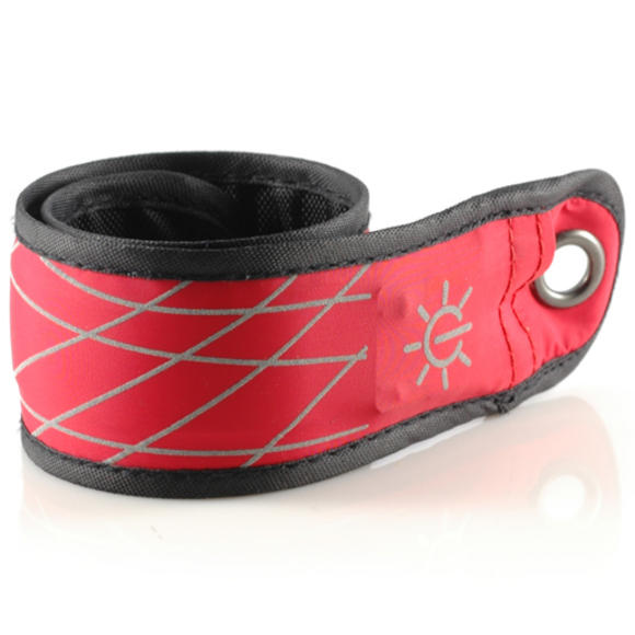 Nite Ize SlapLit Red LED Slap Wrap Bracelet