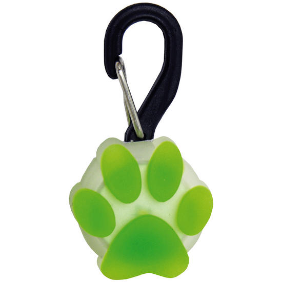 Nite Ize PetLit LED Light Lime Paw